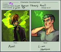 Before And After Liam by Celaenos