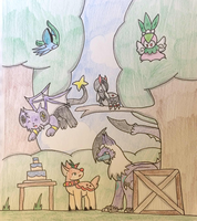 PKMNation: Happy Birthday Newcomers!~ by Dianamond