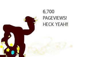 6,700 PAGEVIEWS by rosutu