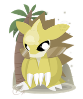Sandslash Flat by SteveKdA