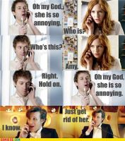 Doctor Who Meets Mean Girls by UnknownSword88