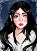 Luthien Tinuviel by moon-nymphet