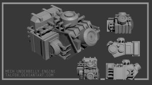 Engine Block by Talfox