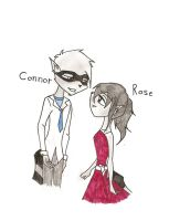 Rose and Connors meet for the first time by HeavensEngel