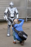 Photographing the Cyberman by masimage