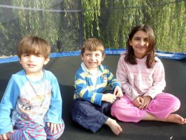 On the trampoline by sameera95