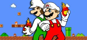Super Fire Bros by AIBryce