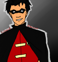 Dick Grayson: boy wonder by ifroggirl