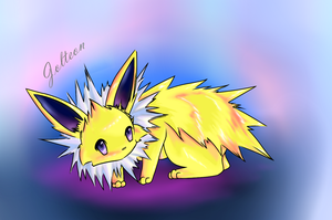 Jolteon-beginning sai by Ayukame