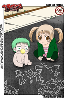 Beelzebub c144 p03 Beel and Futaba by YakushiD