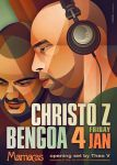 Christo Z + Bengoa At Mamacas by prop4g4nd4