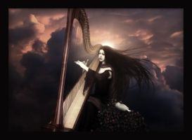 ..The Harpsong.. by spiritsighs