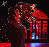Red windows by CremexButter