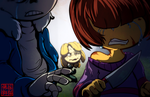 Undertale - Kill With Kindness by Rattlesire
