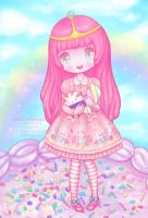 Princess Bubblegum Lolita by miss-octopie