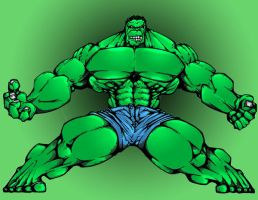 Hulk Colors by Me....Hmmm.... by ICGREEN