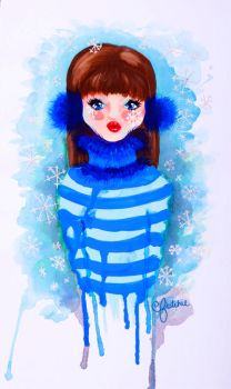 Winter Girl by fritchie