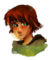 Sad Hiccup by Aveku-chan-Kataang