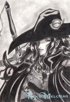 Vampire Hunter D Fan Art by NekoMelchiah
