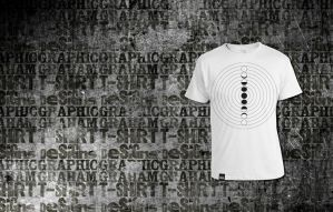 Moon Phase Shirt by SPikEtheSWeDe