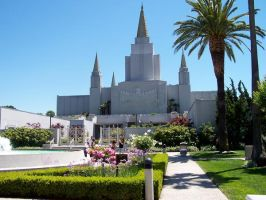 The Oakland Temple by ThirdOEye