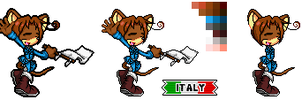 Italy sonic style by MagicalPouchOfMagic