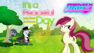Roseluck - It's A Peaceful Day {Cover Art} - RW5 by KibbieTheGreat