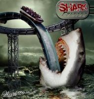 Shark Coaster by sergiopaulos