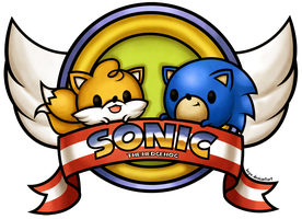 Sonic and Tails by beyx