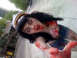 Pin-Up Zombie Sailor by elyspencer