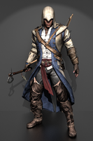 Assassin's Creed 3 - Connor Kenway by IshikaHiruma