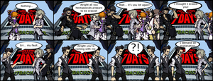 The World Ends with Fredrick 9 by Cherry-sama