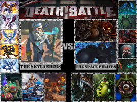 The Skylanders VS. The Space Pirates by Grimmjow-thesexta