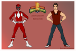 Red Mighty Morphin Power Ranger by Femmes-Fatales