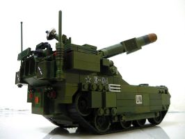 Self-Propelled Artillery 9 by SOS101