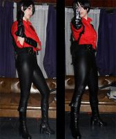 ada wong resident evil 6 collage cosplay by danycamaleon