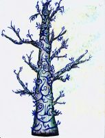 ink tree by shayde1