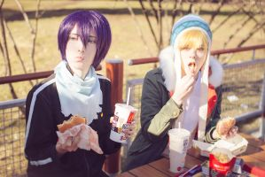 Yato and Yukine #2 by Tovarish-N
