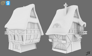 [WIP] MLP Background Building 03 by discopears