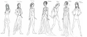 Dana Tepes Hunger Games outfits by LadyoftheGeneral
