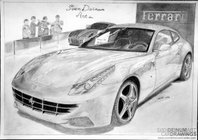 Ferrari FF by SD1-art