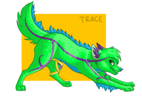 Commission- Trace by MidnightAlleyCat