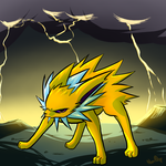 Jolteon - Thunder by NoaQep