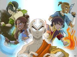Team Avatar by theARTgal