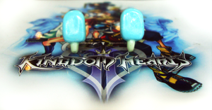 Kingdom Hearts - SeaSalt Studs by LittleCharms