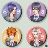 KHR buttons by blingyeol