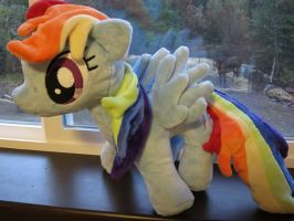 Rainbow Dash Plush by Little-Broy-Peep
