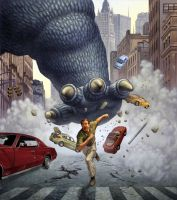 Godzilla STOMP by ChrisQuilliams