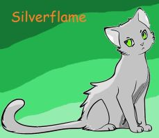 Silverflame by Starflashthehedgecat