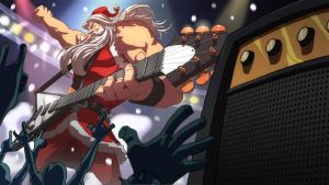 Santa Rockstar HD by Brolo